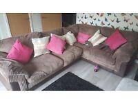 dfs left hand sofa