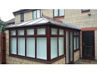 Conservatory roof and windows for sale