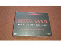 Knight Rider. David Hasselhoff. Complete box set. *BNIB* 80's TV!