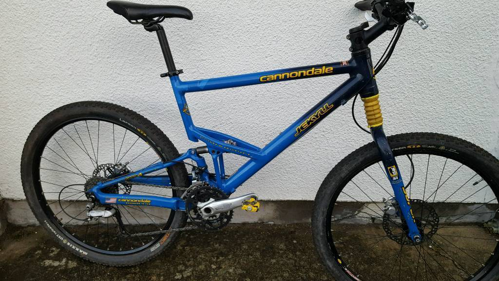 Cannondale Jekyll Full Suspension Mtb With Shimano Xt In Ferndown