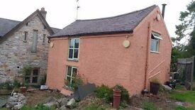 one bedroom self contained property in denbigh