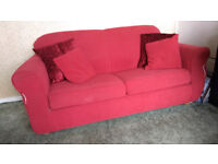 Red Soft Bed (Free - collection only