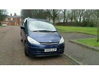 2002 Toyota Previa 2.0 d4d 5 speed hpi clear long mot runs well