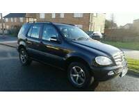 2003 MERCEDES ML270 AUTOMATIC LEATHER 5 SEATER *** LOW MILEAGE **** VERY CLEAN