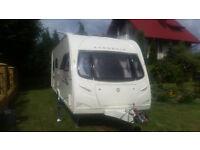 caravan Avondale Ospray gold +motor mover