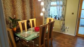 A very large double room with the conservatory to rent in Taunton centre for couple or single person