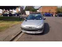 2001 Peugeot 206 LX - Great Condition. 10 Months MOT. 44,126 miles. Priced for Quick Sale!