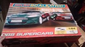 Scalextric micro, 7 cars