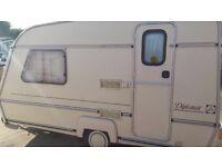 2 berth jubilee caravan