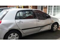 Corolla spares or repair