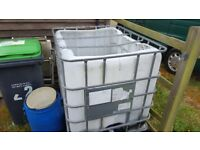IBC 1000ltr Container (2 x Available)