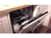 Bosch 2 years old integrated dishwasher