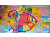 baby play mat / gym good condition, smoke free home
