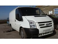 **FOR BREAKING** 2009 Ford Transit vans (choice of 2.2D & 2.4D engines).