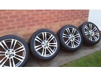 BMW X5 alloys M333 Style and tyres (4 Nr)