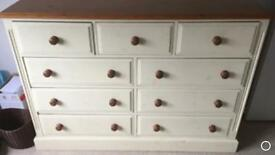 Large Solid Pine Chest of drawers furniture Sideboard Sutton sm3