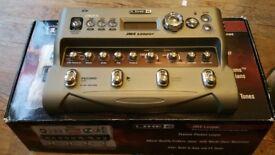 Line 6 JM4 Looper Guitar Pedal Boxed