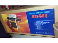 2 burner gas barbecue