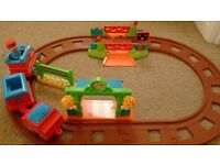 Happyland Train Track Set. Like New