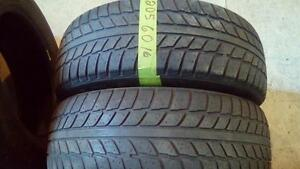 Two 205 60 16 winter tires