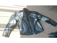 Motorcycle clothing gear - All-Season Jacket (L) & boots (9)