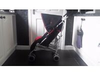 LADYBIRD Pushchair buggy with cozy toes and rain cover