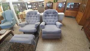 Blue Recliner Chair