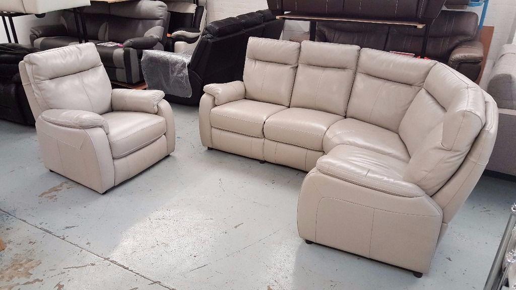 Furniture Village Jemima Corner Sofa furniture village jemima grey leather corner sofa & armchair can
