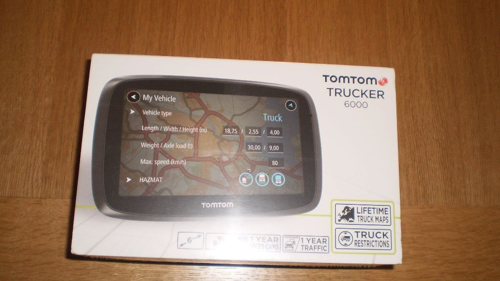 tomtom trucker 6000 in acocks green west midlands gumtree. Black Bedroom Furniture Sets. Home Design Ideas