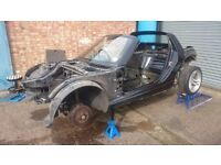 SMART ROADSTER ROLLING SHELL WITH V5 - BLACK TRIDION BODY / CHASSIS ** READ **