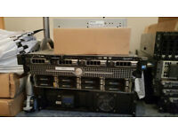 Dell PE410 and Fibre Channel SAN EMC AX4-5 with all extras.
