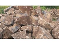 Large stones for garden feature / modern architectural design