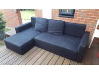Three seater corner sofa bed nice and clean in good condition