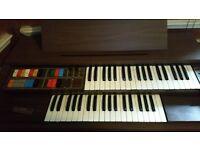 GEM Split level keyboard, with piano stool