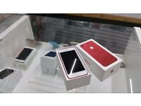 With Receipt AS New BOXED iPhone 7 *128GB* RED - Apple Warranty until 03/5/2018