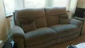 La z boy reclining sofa