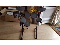Virtually new Yamaha DTX400K Electric Drum Kit with Box