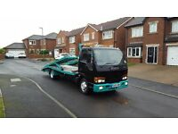 05 REG ISUZU NQR 4.8 TD 2 TWIN DECK 2 CAR TRANSPORTER RECOVERY TRUCK MOT-2017 NOT VAT VERY CHEAP !!!