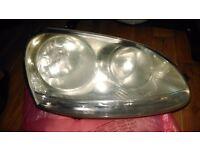 Golf mark 5 headlights x2