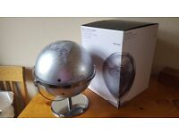 Globe - john lewis medium metallic silver - complete with box