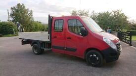 Vauxhall Movano R3500 Pick Up Crew Cab
