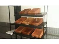 Shelves for bread