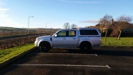 2010 FORD RANGER DOUBLE CAB 4X4 PICKUP 12 MONTHS MOT