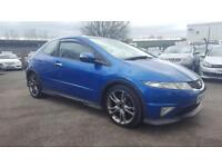 HONDA CIVIC 1.8 I VTEC TYPE S GT 6 SPEED 3 DOOR 2007 / FULL GT BODYKIT / FSH ...