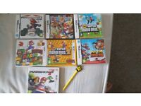 7x3ds and ds mario games