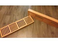 CD wall Storage solid wood