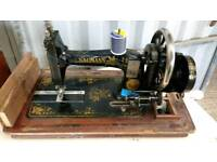 Vintage Naumann Sewing Machine
