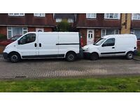 Removals/Man and Van/Courier Services/M.O.T Services/Driving and traveling services/Car Dealer