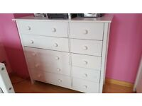 Childs Wardrobe/Chest of Drawers and Cabin Bed