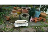 Garden ornaments and containers